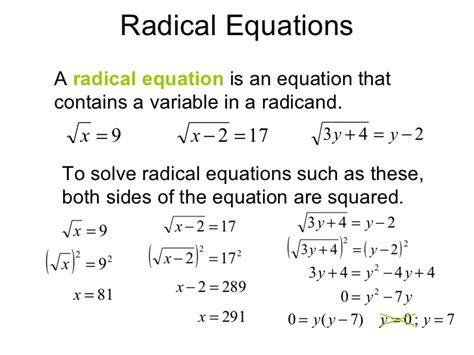radicals and rational exponents worksheet worksheets