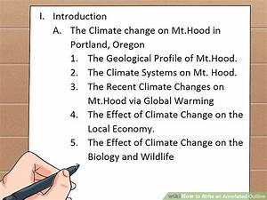 How To Write An Apa Paper Step By Step 3 Ways To Write An Annotated Outline Wikihow