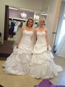 white vs diamond white pics in here weddingbee With ivory vs white wedding dress