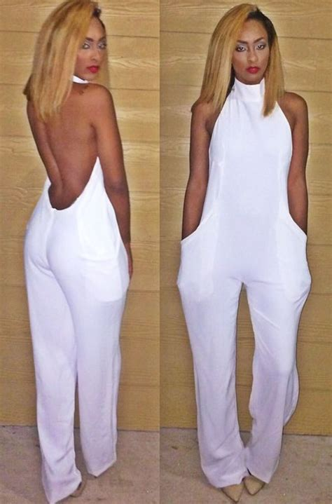 all white jumpsuit for i freakin this fashion all