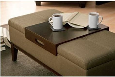 Storage Bench And Table by This Versatile And Sylish Storage Ottoman Can Be Used As