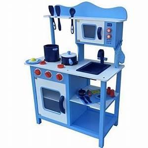 Spielküche Zubehör Holz : kinderk che spielk che blau aus holz kinderspielk che spielzeugk che mit zubeh r blau ~ Orissabook.com Haus und Dekorationen