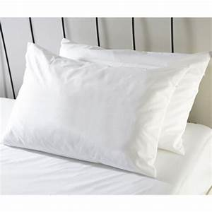 Classic microfibre anti allergen dustmite proof pillow for Allergen proof pillow covers