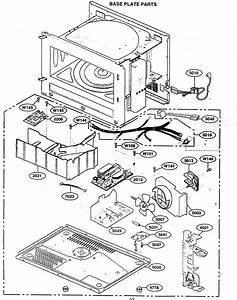 Base Plate Parts Diagram  U0026 Parts List For Model 72162362200 Kenmore