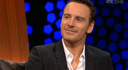 Fassbender Michael Giphy Late Tubridy Mortified Night