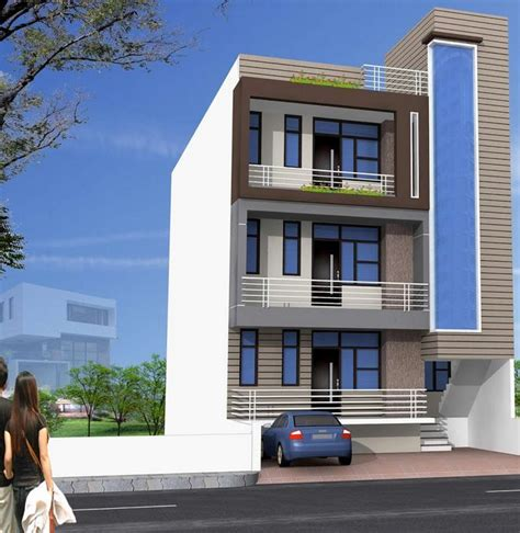 Design Small House With A 3 Storey Building  House Floor