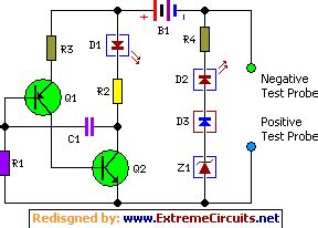 Components Voltage Tester Circuit Schematic Eeweb Community