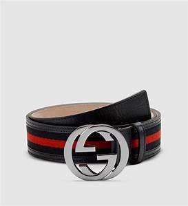 Gucci Signature Web Belt With Interlocking G Buckle in ...
