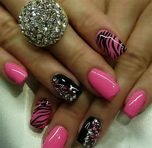Beautiful pink nail art ideas for girls trendy mods