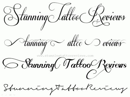 Alphabet Letters In Cursive For Tattoos 2018  World Of Printables