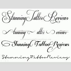 Awesome Tattoo Fonts Cursive Contemporary  Styles & Ideas 2018 Intended For Alphabet Letters In