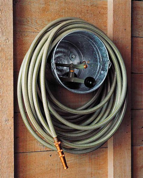 garden hose storage 16 genius garden tool organization ideas