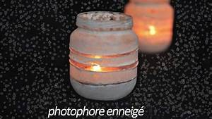 Pot En Verre Deco : recycler petit pot b b photophore enneig e youtube ~ Melissatoandfro.com Idées de Décoration