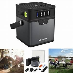 Poweradd 50000mah Portable Generator Ac Power Inverter Power