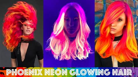 Phoenix Neon Glowing Hair Youtube