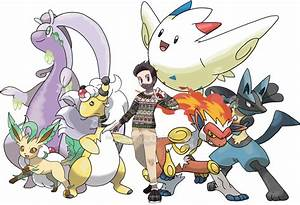 Trainer OC Tom And Pokemon Team By Tails19950 On DeviantArt