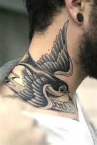 Swallow Bird Tattoo Man