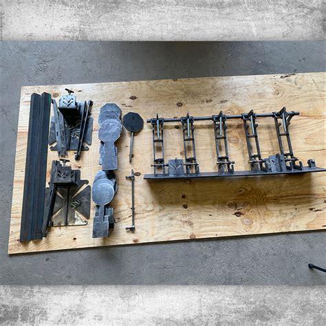 shoot  reset plate rack ar steel targets