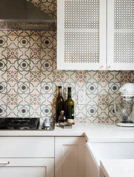 encaustic tile backsplash remodel kitchen