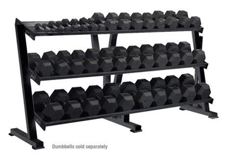 york  tier tray hex dumbbell rack gymstorecom