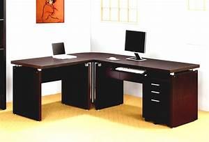 Home Office Impressive Office Idea Presented With Dark