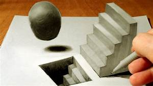 Drawing Staircase And Sphere