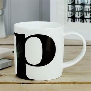 Mug à Thé : alphabet initial mug p by repeat repeat ~ Teatrodelosmanantiales.com Idées de Décoration