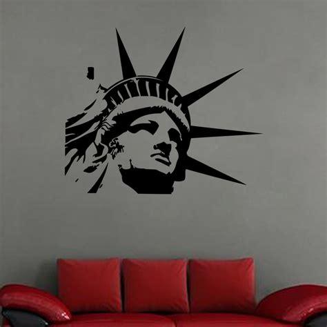 stickers  york tete statue de la liberte ambiance