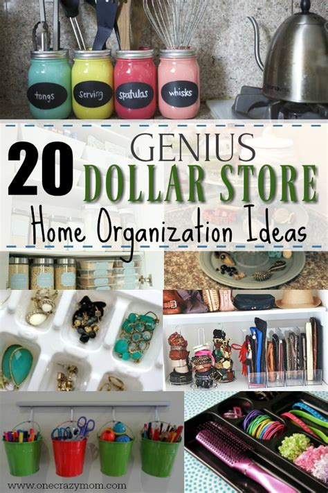 dollar store home organization  dollar store home