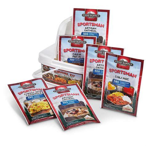 cuisines sold馥s food supply depot 72 hour emergency food supply 12 servings 293333 survival food mre at sportsman 39 s guide