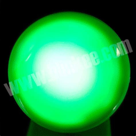 blink and glow green led ring green