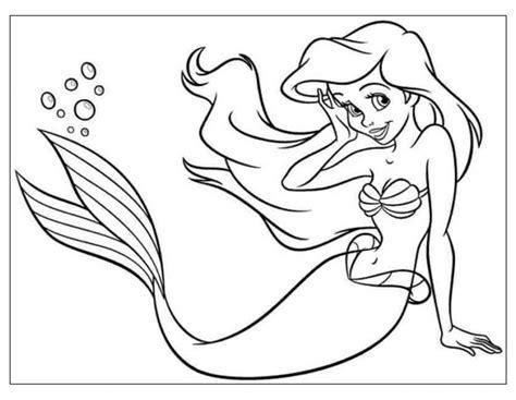 colorare on line gratis per bambini 30 idea ariel da colorare per bambini pagine da colorare