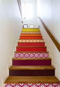 les 25 meilleures idees de la categorie peinture de l With good escalier peint 2 couleurs 6 les 25 meilleures idees de la categorie escalier