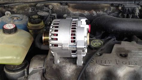 replace  alternator    ford focus youtube