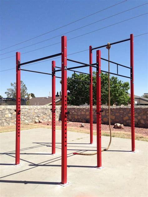 monkey bars garage floor climb unit strength