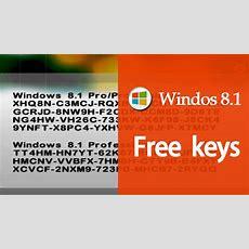 Windows 81 Product Key 2016 100% Working[window 881proprofessionalenterprise List License