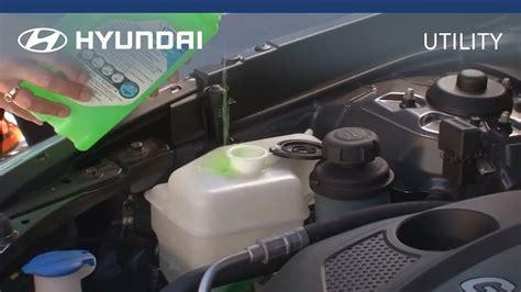 Hyundai   myHyundai   How To Check And Fill Coolant - YouTube