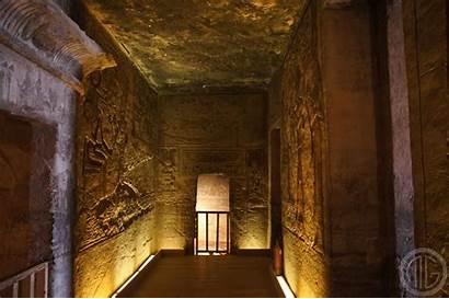 Abu Simbel Temple Inside Interior Nefertari