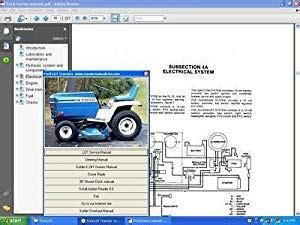 amazoncom ford lawn  garden tractor service owners