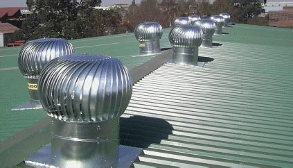 warehouse exhaust fan installation tornado turbine industrial roof ventilation system roof
