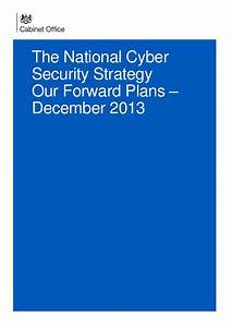 The UK National Cyber Security Strategy