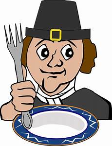 Hungry Pilgrim Clip Art at Clker.com - vector clip art ...