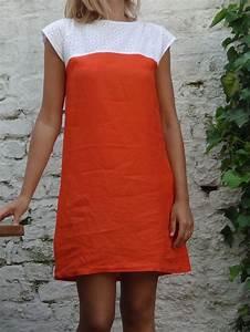 robe de debutante orange patron dans quot mes carnets de With patron robe été