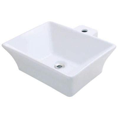 porcelain vessel sink home depot polaris sinks porcelain vessel sink in white p092v w the