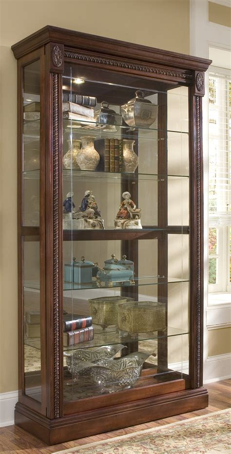 furniture stunning curio cabinet  modern home