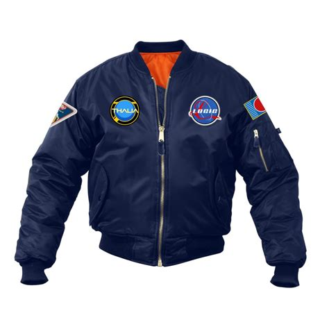 Jaket Hoodie Sony By Merch logic space patch nasa jacket