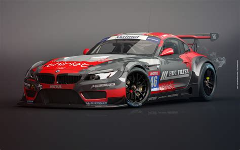 Gaazmaster Motorsport  Bmw Z4 Gt3  Tds Racing