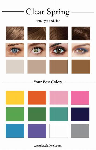Palette Spring Personal Create Quiz Clear Cool