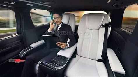 toyota alphard based lexus lm ultra luxurious mpv debuts