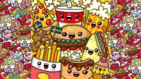 cuisine kawaii how to draw kawaii fast food by garbi kw